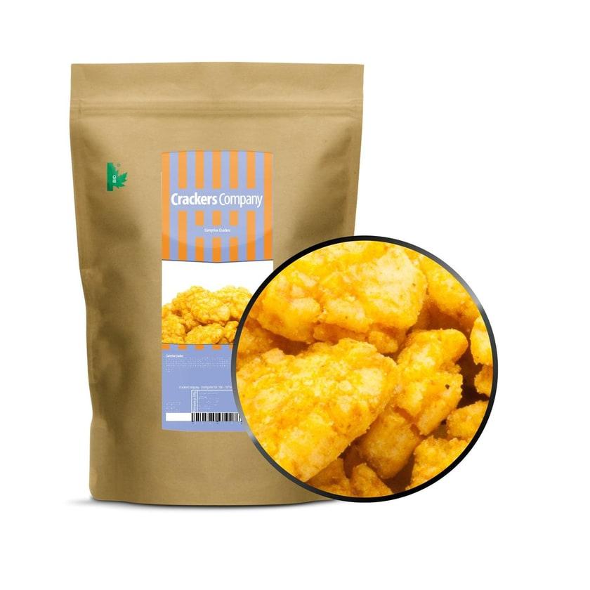 Curryrice Cracker - Reiscracker mit Curry Gewürz - ZIP Beutel 200g