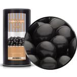 Black Choco Peanuts - Erdnüsse in Vollmilchschokolade Schwarz - Membrandose groß 950g