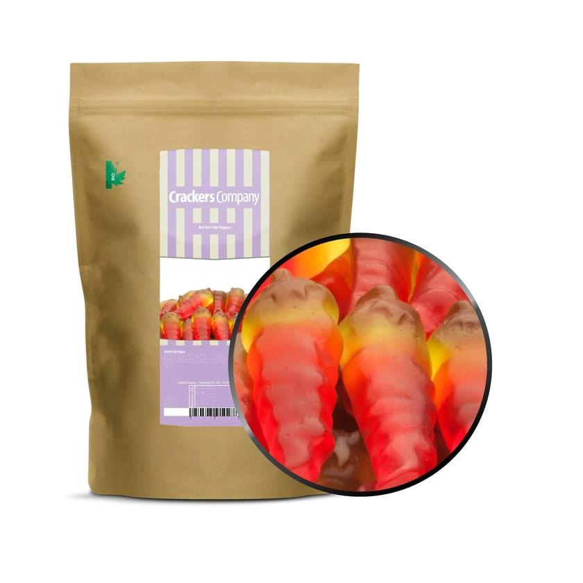 Red Hot Chili Peppers - Scharfe Chili Gummischoten - ZIP Beutel 700g