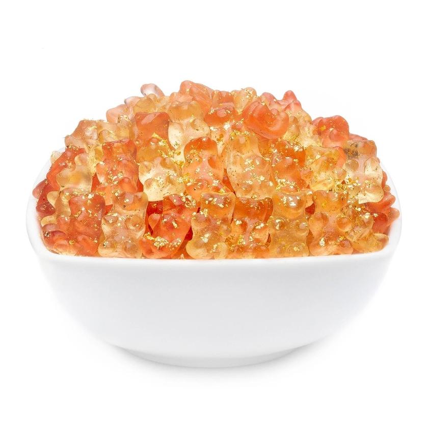 Secco Gold Bears - Secco-Gummibärchen mit echtem Gold - Vorratspackung 3kg