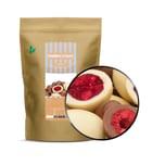 Raspberry Twins - Himbeeren in Milchschokolade - ZIP Beutel 500g