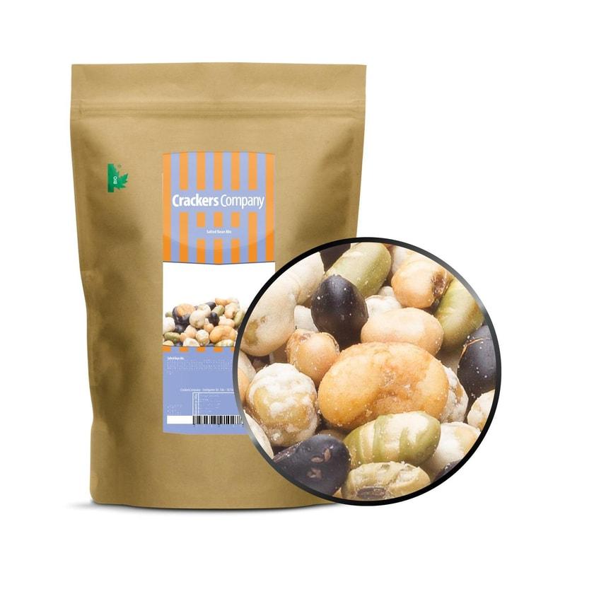 Salted Bean Mix - Geröstete Bohnenmischung mit Meersalz - ZIP Beutel 350g