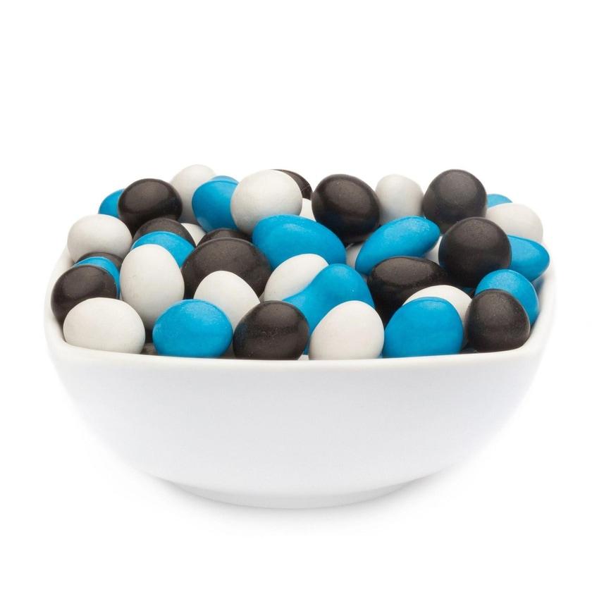 White, Blue & Black Peanuts - Vollmilchschokonuss Weiß, Blau & Schwarz - Vorratspackung 5kg
