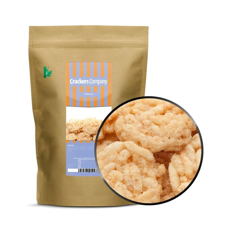 Risotto Snack - Risotto Reiscracker mit Soja - ZIP Beutel 100g