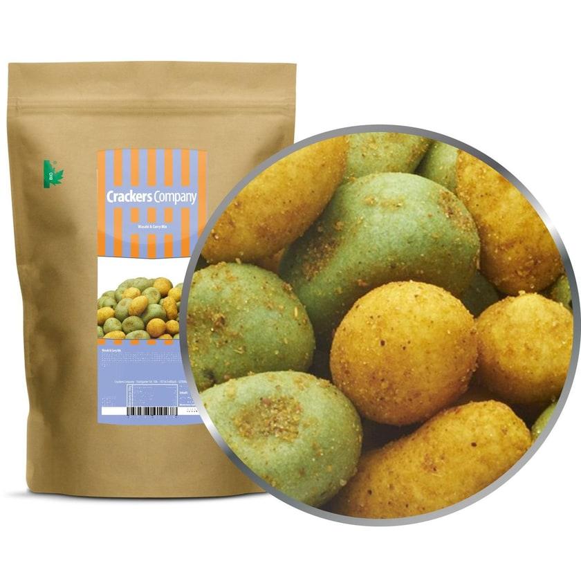 Wasabi & Curry Mix - Curry und Wasabi Erdnuss - ZIP Beutel 500g