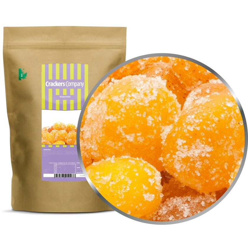 Kumquat Deluxe - Getrocknet und kandierte Kumquats - ZIP Beutel 700g