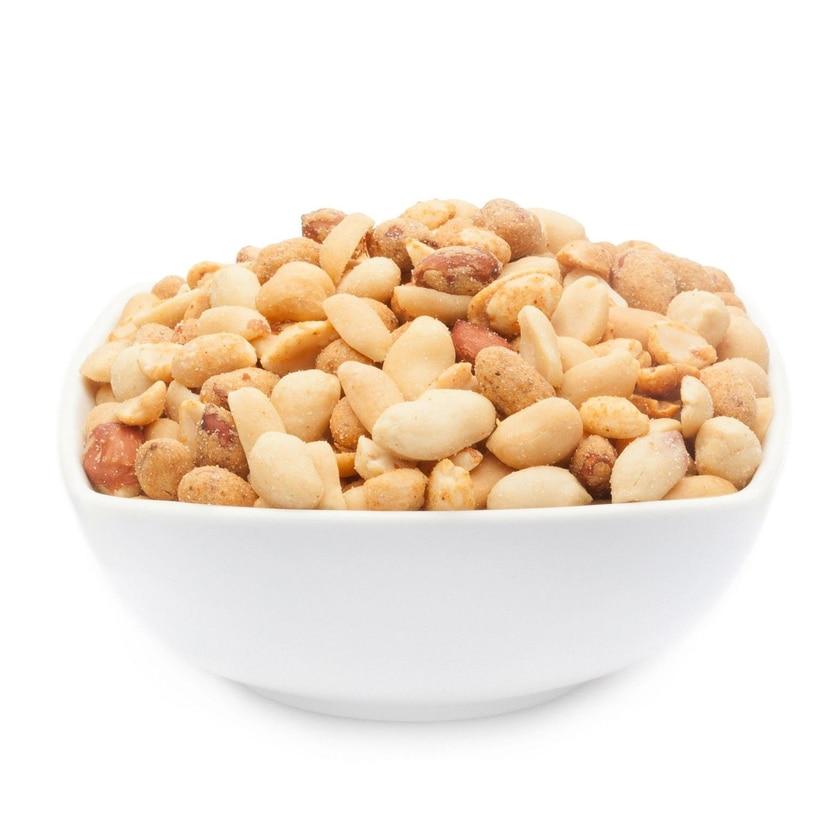 Peanut Mix - Dreierlei Erdnussmischung mit Meersalz - Vorratspackung 3kg