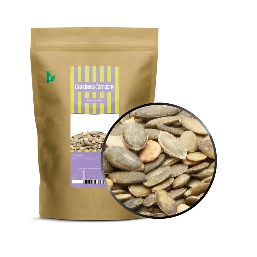 Roasted Pumpkin Seed - Geröstete Kürbiskerne ohne Salz und Öl - ZIP Beutel 500g