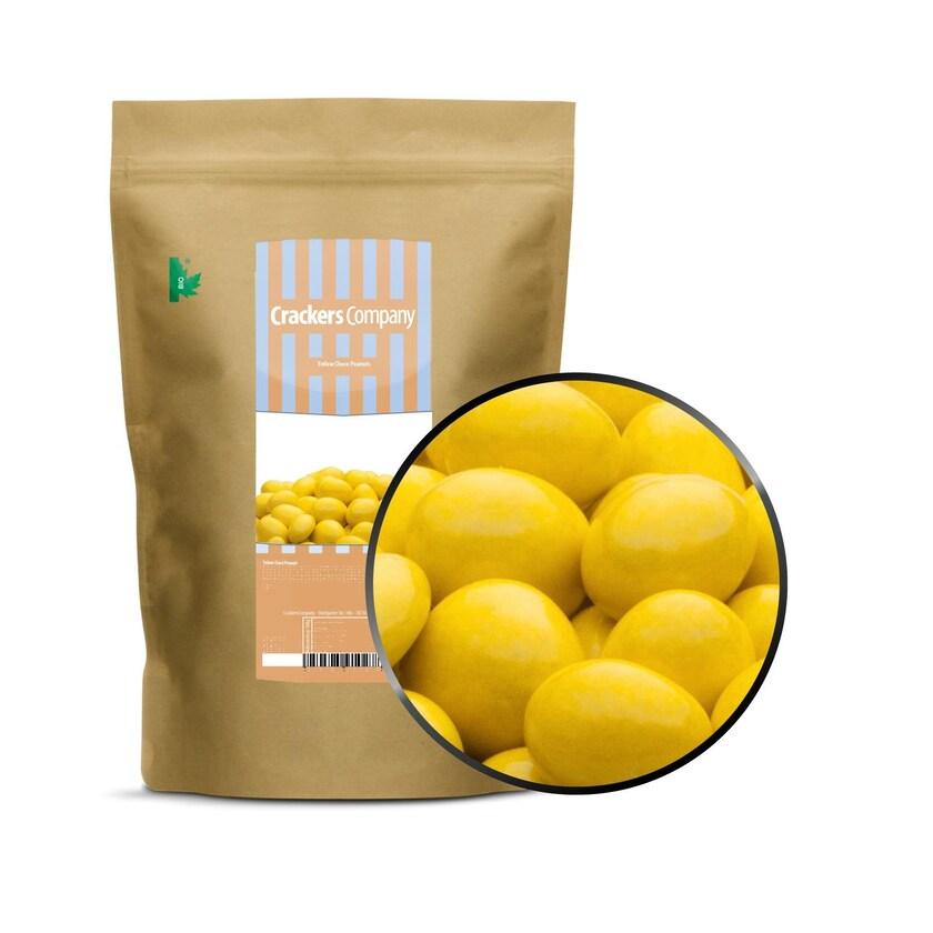 Yellow Choco Peanuts - Erdnüsse in Vollmilchschokolade Gelb - ZIP Beutel 750g