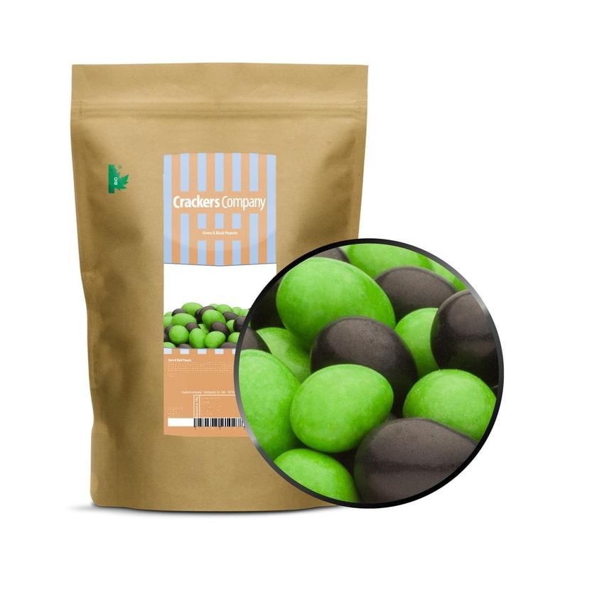 Green & Black Peanuts - Vollmilchschokonüsse Grün und Schwarz - ZIP Beutel 750g