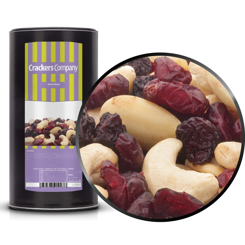 Natural Blend - Nuss & Frucht Mischung - Membrandose groß 700g
