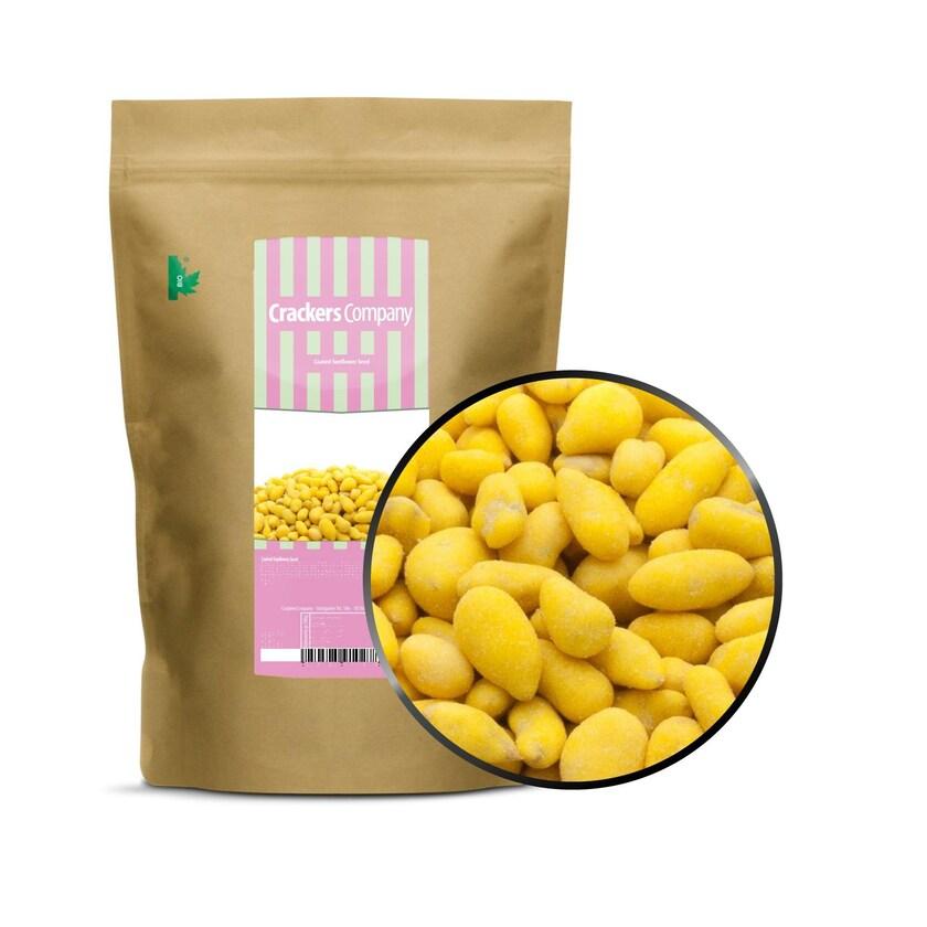 Coated Sunflower Seed - Sonnenblumenkerne mit Kurkuma - ZIP Beutel 550g