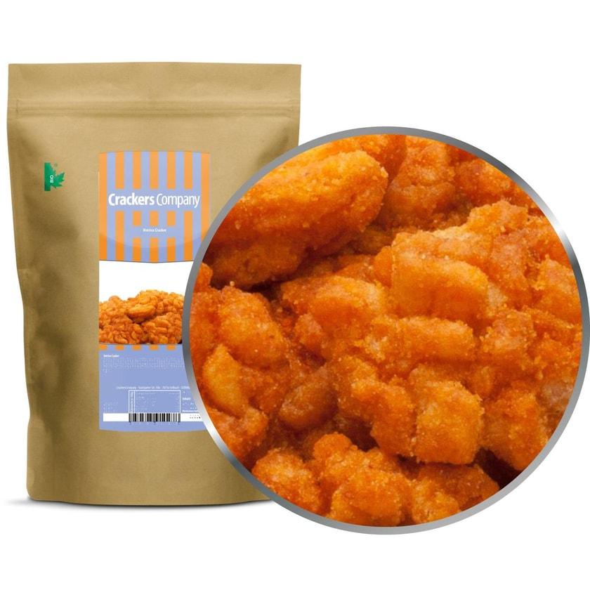 Hotrice Cracker - Gebratene Reiscracker mit Chili und Soja - ZIP Beutel 150g