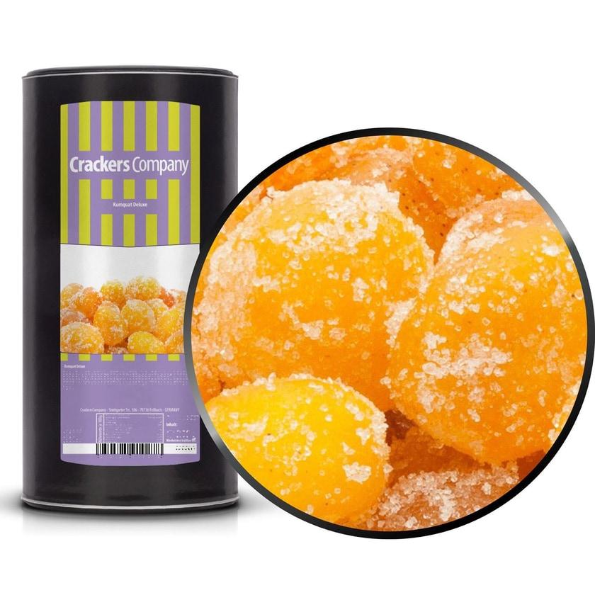 Kumquat Deluxe - Getrocknet und kandierte Kumquats - Membrandose groß 750g