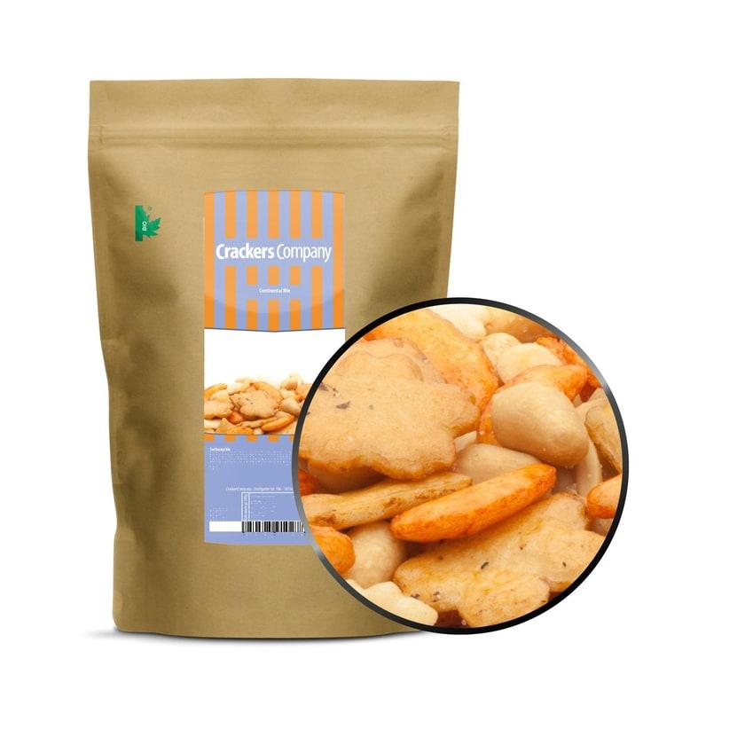 Continental Mix - Erdnuss und Reiscracker Mischung - ZIP Beutel 450g