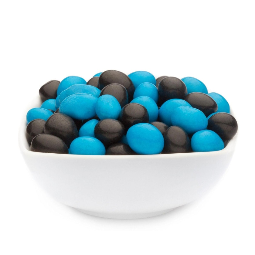 Blue & Black Peanuts - Vollmilchschokonüsse Blau und Schwarz - Vorratspackung 5kg