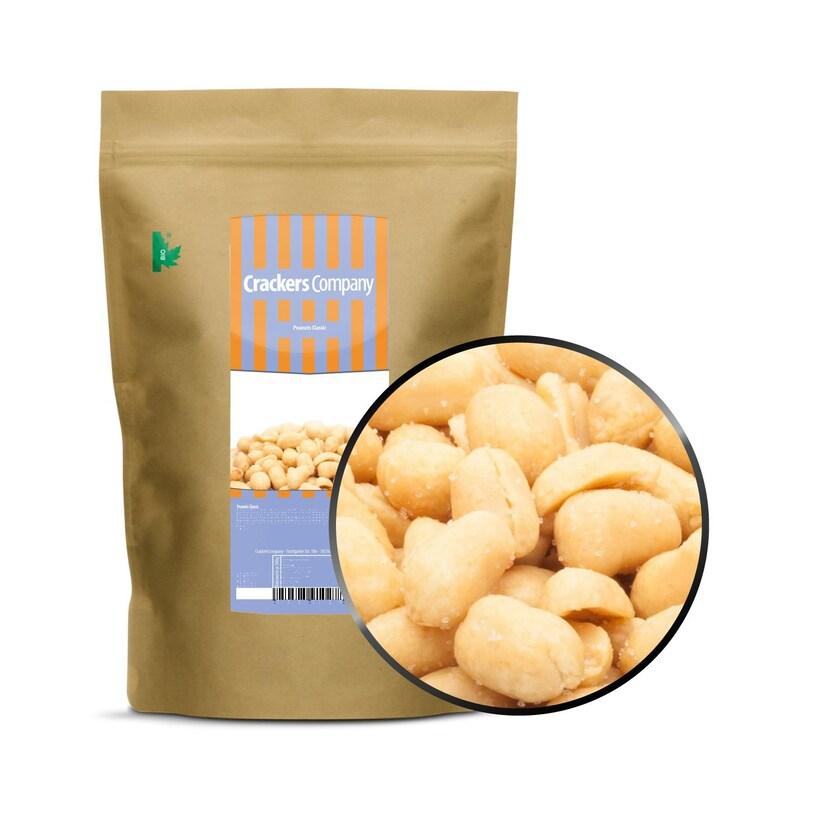 Peanuts Classic - Geröstete Erdnuss mit Meersalz - ZIP Beutel 550g