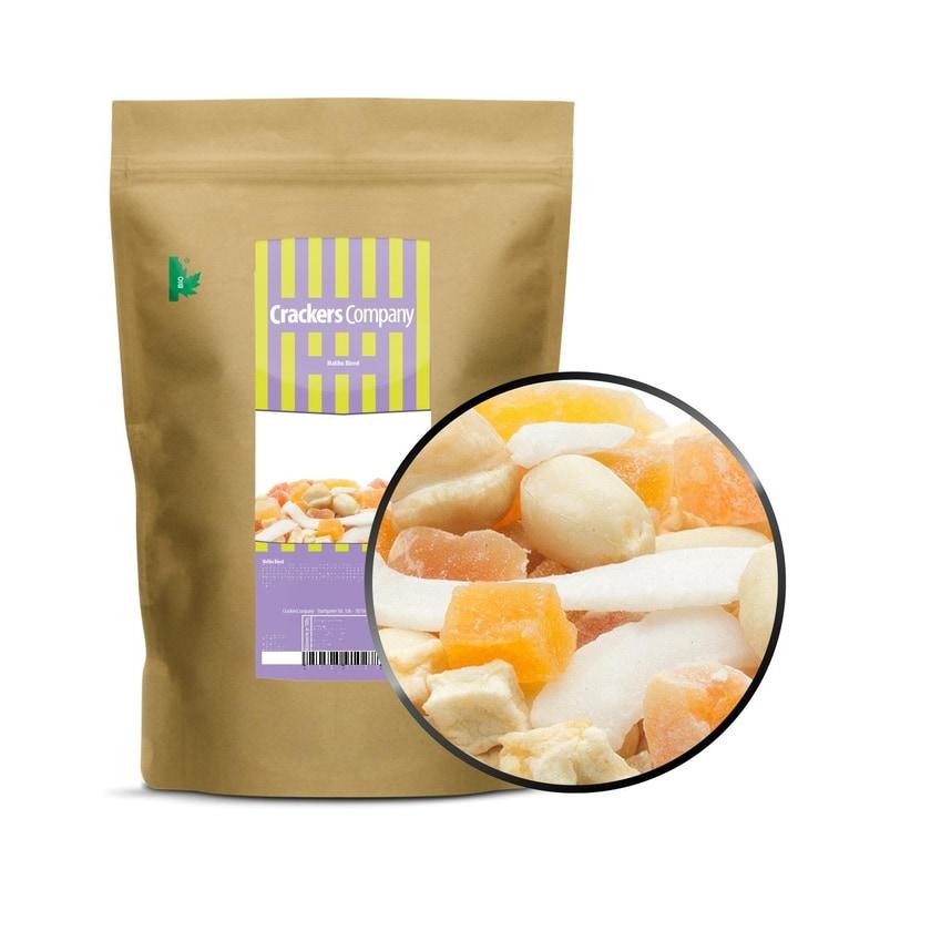 Malibu Blend - Snack-Mix mit kandierten Fruchtwürfeln - ZIP Beutel 400g