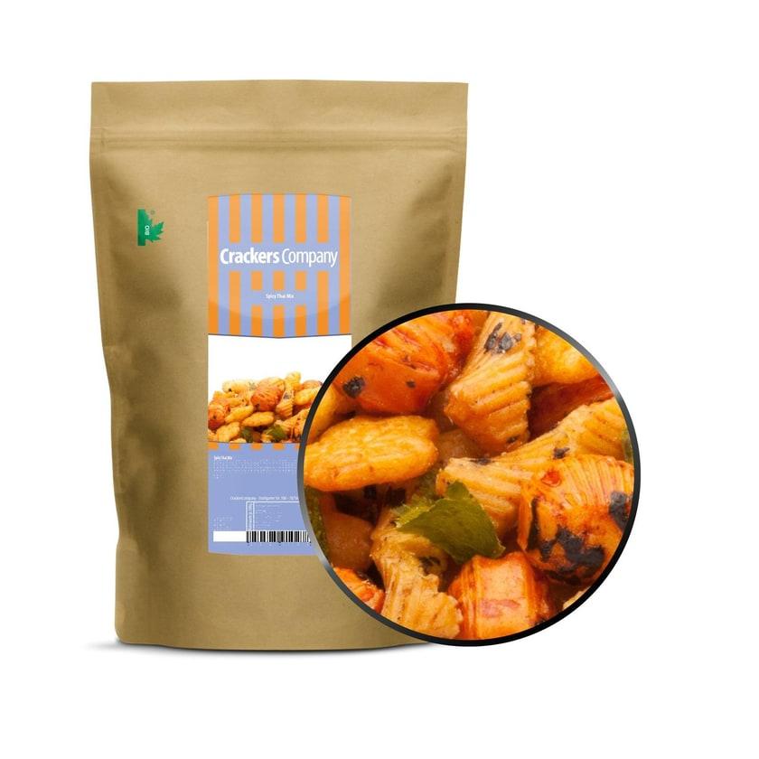 Spicy Thai Mix - Thai Cracker mit Zitronengras & Limette - ZIP Beutel 250g