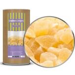 Pineapple Cube - Getrocknet und kandierte Ananaswürfel - Membrandose groß 700g