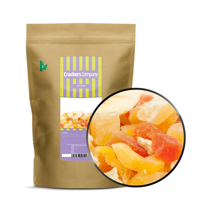 SPA Fruity Mix - Exotische Fruchtmischung - ZIP Beutel 450g