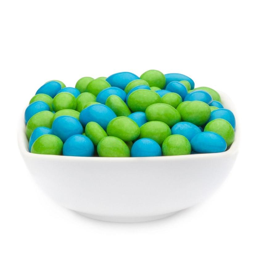 Green & Blue Peanuts - Vollmilchschokonüsse Grün und Blau - Vorratspackung 5kg