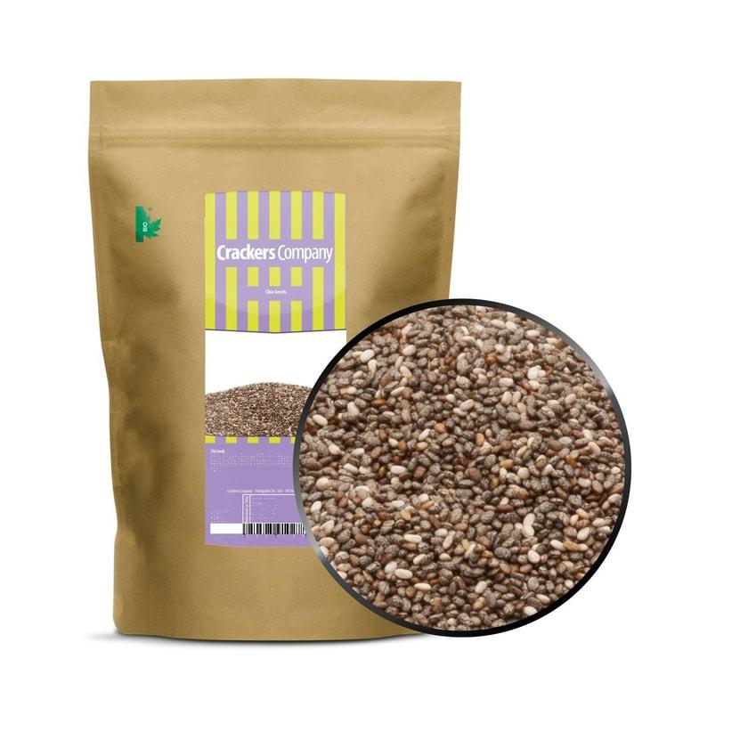 Chia Seeds - Unbehandelte, mexikanische Chiasamen - ZIP Beutel 700g