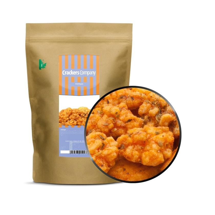 Fried Oregano - Mediterrane Reiscracker mit Oregano - ZIP Beutel 200g