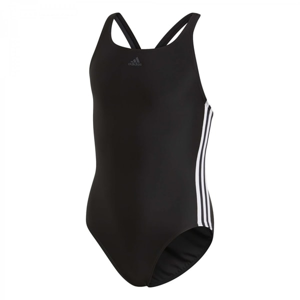 adidas Mädchen Badeanzug Athly V 3 Stripes Swimsuit Girls