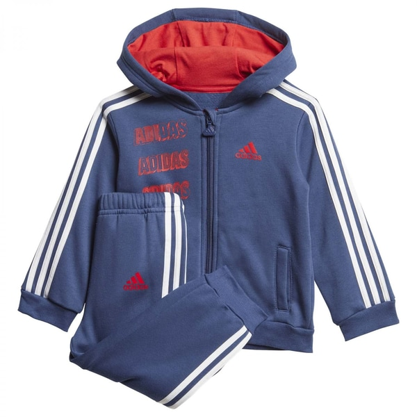 adidas Baby Jogginganzug I Logo Full Zip Hooded Jogger