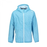 CMP Mädchen Regenjacke Kid G Rain Fix Hood Jacket 31X7295