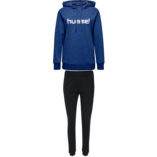 Hummel Damen Sweatanzug Go Cotton Logo 203517+204173