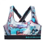 Under Armour Damen Sport BH Mid Crossback Printed Bra 1307213