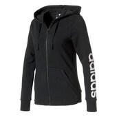 adidas Damen Hoodie Essentials Linear Fullzip