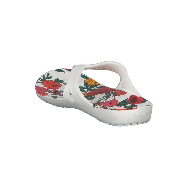 Crocs Damen Zehentrenner Kadee II Printed Floral Flip 206097