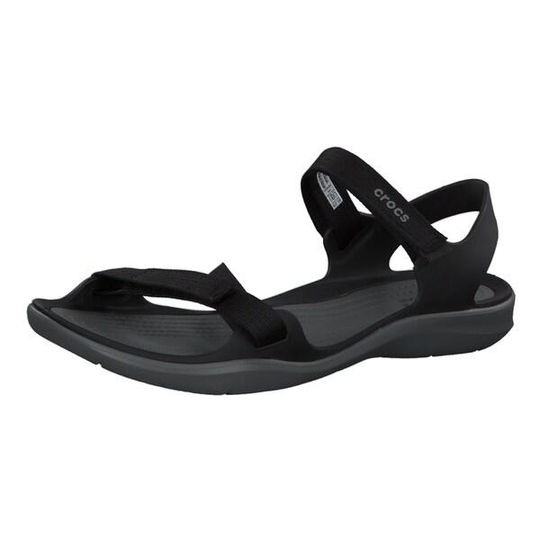 Crocs Damen Sandale Swiftwater Webbing Sandal 204804