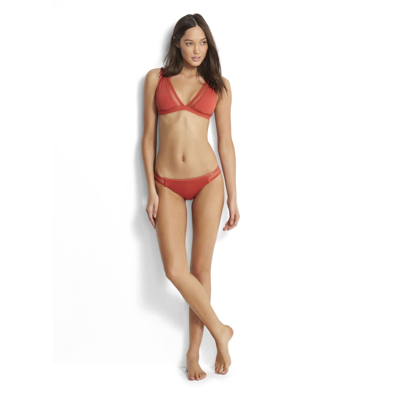 Seafolly Damen Bikinihose Hipster WildatHeart 40480