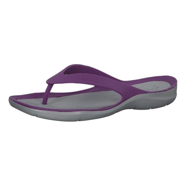 Crocs Damen Zehentrenner Swiftwater Flip 204974