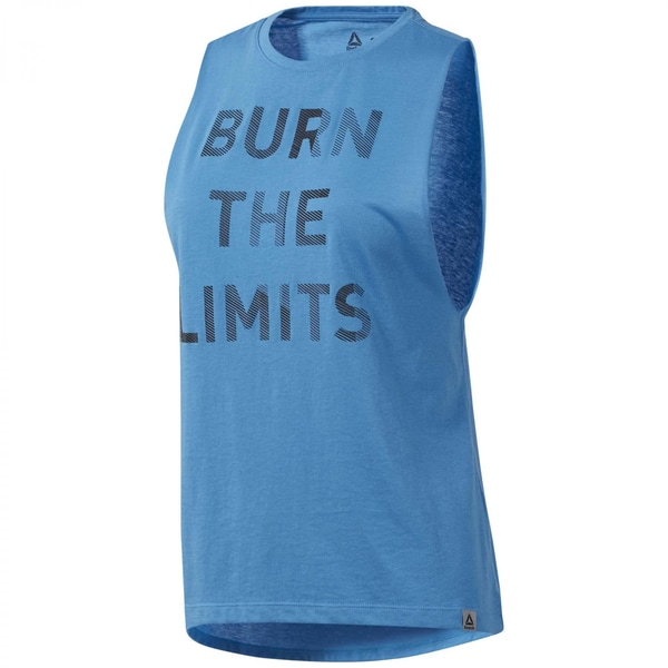 Reebok Damen Tanktop Graphic Series Burn Limits Muscle Top