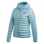 adidas Damen Daunenjacke Varilite Down Hooded Jacket