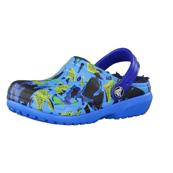 Crocs Kinderschuhe Classic Lined Graphic Clog K 204817