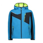CMP Jungen Softshelljacke Boy Jacket Fix Hood 30A1544