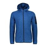 CMP Herren Fleecejacke Knitted Fix Hood Jacket 3H60847N