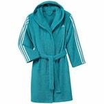 adidas Kinder Bademantel 3 stripes bathrobe