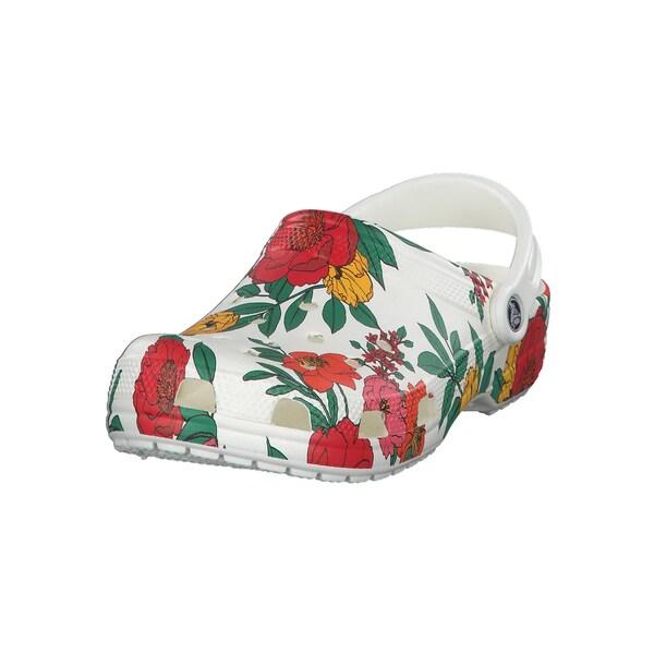 Crocs Damen Schuhe Classic Printed Floral Clog 206376