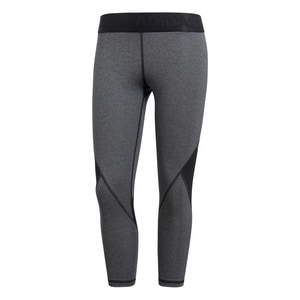 adidas Damen 3/4 Tight Alphaskin Sport Heather