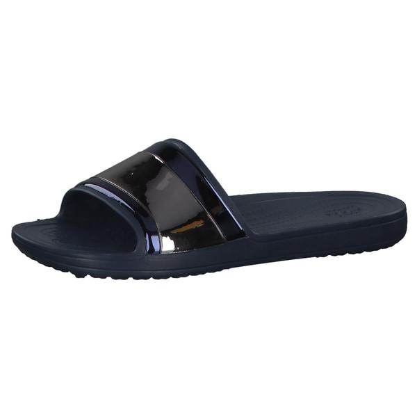 Crocs Damen Sandale Sloane MetalBlock 205358