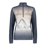 CMP Damen Pullover Woman Sweat 38L1306