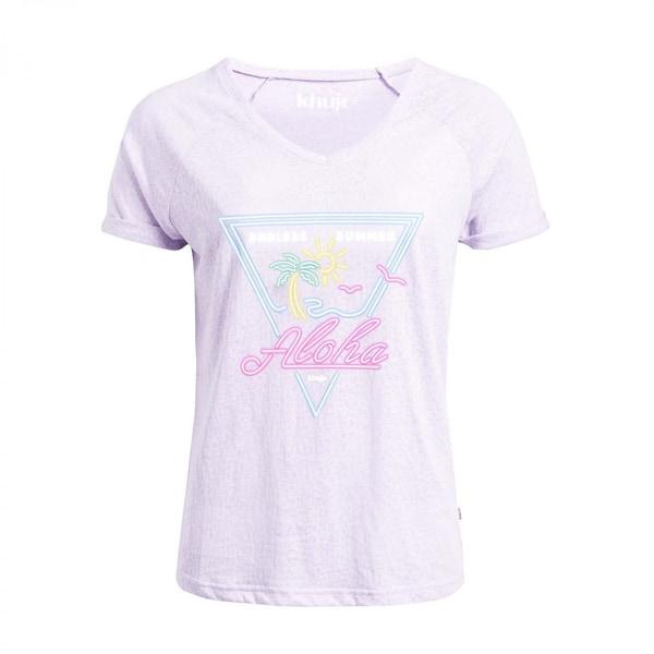 Khujo Damen T-Shirt Vivianne 1212TS191