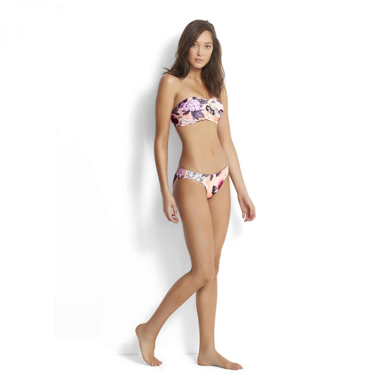 Seafolly Damen Bikinihose Hipster Modern Love 40054-167